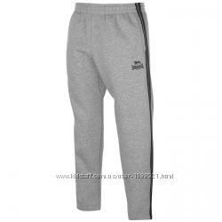 Штаны спортивные Lonsdale Joggers Grey Оригинал Серый цвет тёплые на флисе