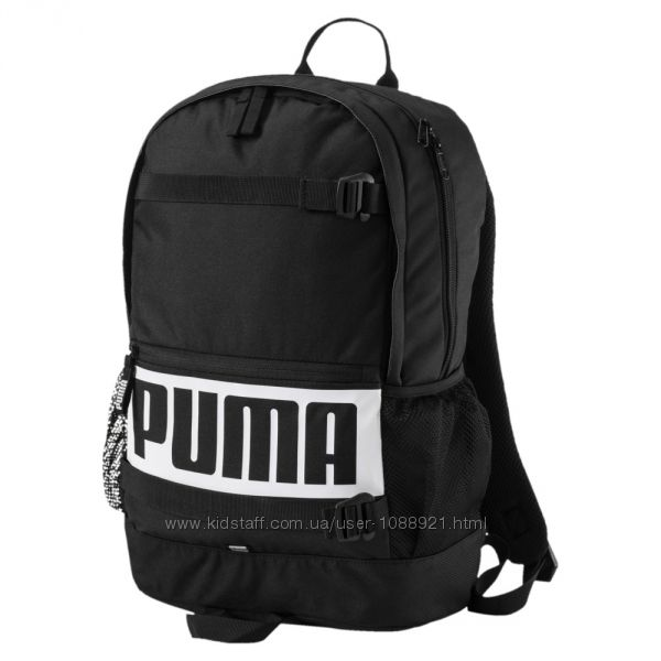 Рюкзак Puma Deck Black 24l Оригинал Чёрный городской спортивный школьный