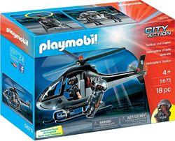 Playmobil 5675 Полицейский вертолет специального назначения