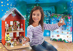 Playmobil 70383 Огромный адвент-календарь Рождество в таунхаусе