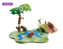 Playmobil 6541 Домик бобров на реке. Абсолютная новинка