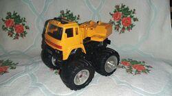 Машинка детская. Спец техника. Жёлтый цвет