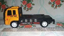 Эвакуатор. Машинка детская. Спец техника. Жёлтый цвет