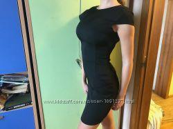 Чёрное платье для старшеклассниц