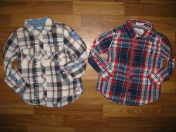 фирменные рубашки и футболки мальчику на 3-6 лет в отличном состоянии ч 1