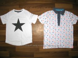 фирменные рубашки шведка и футболки мальчику на 3-6 лет  ч 2