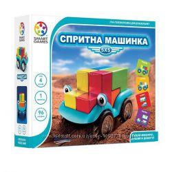 Детская игра на логику Спритна машинка. Шустрая машинка
