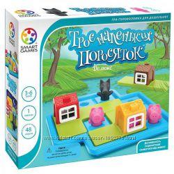 Игра-головоломка Троє маленьких поросяток Делюкс. Три маленьких поросёнка