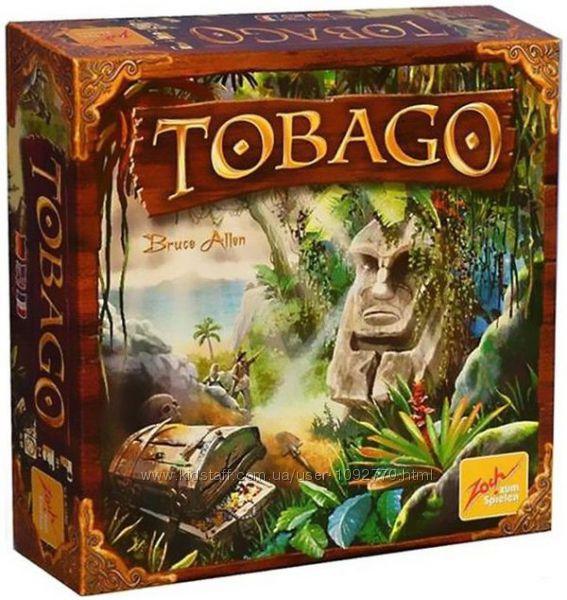 Настольная игра Tobago. Тобаго