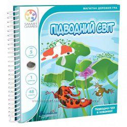 Магнитная игра-головоломка Підводний світ. Подводный мир