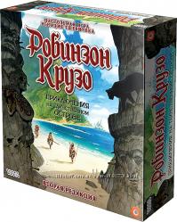 Настольная игра Робинзон Крузо. Приключения на таинственном острове
