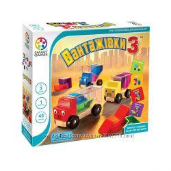 Игра-головоломка для малышей Вантажівки 3. Грузовички 3