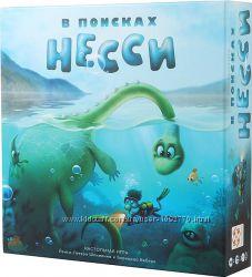 Настольная игра В поисках Несси. Finding Nessie