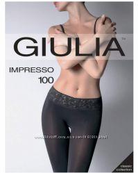 Колготки 100 Ден на силиконе микрофибра Giulia