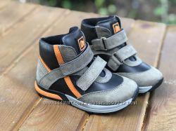 Детские ортопедические демисезонные ботинки Minimen р. 21, 22 Бежевый