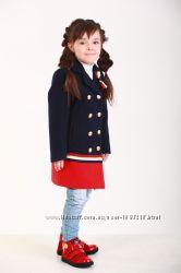 Детское демисезонное пальто для девочки 110 - 128р