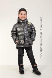 Детская зимняя куртка для мальчика Металик р. 110, 116, 122