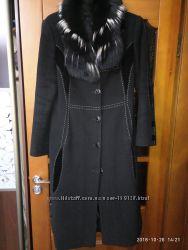 Пальто новое зимнее с чернобуркой ТМ Nui Veri