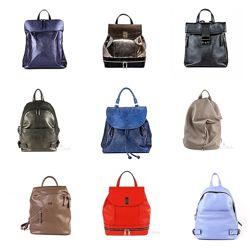 Кожаные женские рюкзаки ASSA. Создай свой рюкзак в модели и цвете на выбор