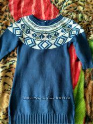 Платье теплое Крейзи8 на 7-8 лет
