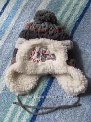 Крутая зимняя шапка
