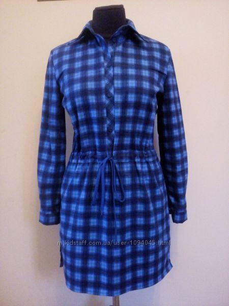 Женская теплая, мягкая рубаха-туника размери xs-xxl