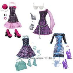 Monster High набор одежды и аксессуаров фэшн пек аутфит Клео Эбби Спектры