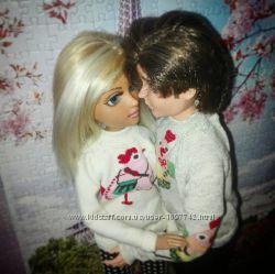 Парные свитрики для Гевина и его девушки. МоксиТинз.