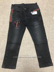 Чорні джинси Gucci, утяжка. 128-146cm. Turkey