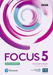 Focus 5 Teacher&acutes Book , SB, WS, audio 2nd edition PDF