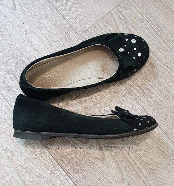 Замшевые туфельки, 32 р