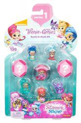 Fisher-Price Шиммер и Шайн набор из 8 фигурок Shimmer Shine Teenie Genies