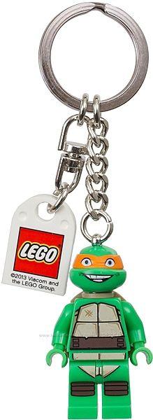 Брелок Lego Черепашки Ниндзя Микеланджело 850653