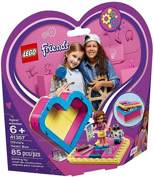 LEGO Friends Шкатулка-сердечко Оливии 41357 б. у.