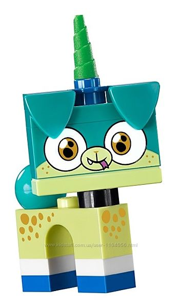 Lego Минифигурка Unikitty Alien Puppycorn 41775 б. у.