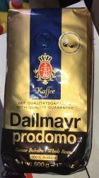 Кофе молотый Dallmayr Prodomo Entcoffeiniert 500гр. Герман