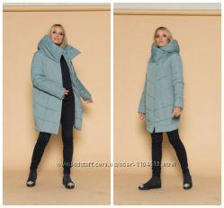 Модная зимняя куртка Зефирка р. 42 44 46 48 50 52 54