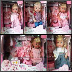 Кукла-пупс Baby Toby 30800 Baby Born, 5 платьев, говорит 9 фраз