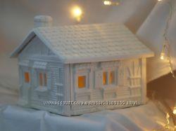 Гипсовые домики-раскраски 3-D