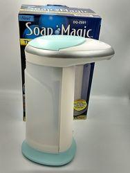 Диспенсердля антисептика, жидкого мыла, моющего Soap Magic