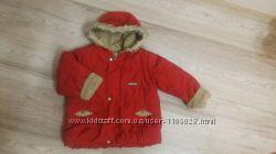 Детская зимняя куртка на 92 см роста