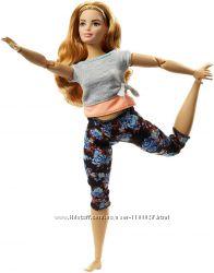Барби пышная Made To Move Barbie Безграничные движения FTG80