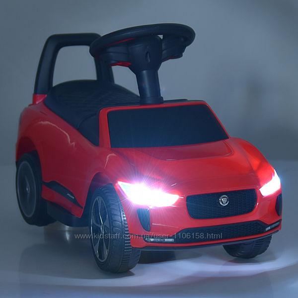 Ягуар 4461 толокар электромобиль машинка детская