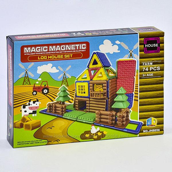 Магнитный конструктор 8856 Ферма дом набор 3Д