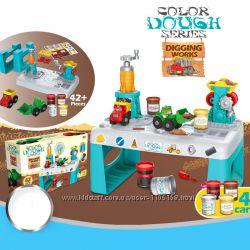 Колор Дог Земляные роботы 8734 набор для лепки тесто Color Dough с столиком