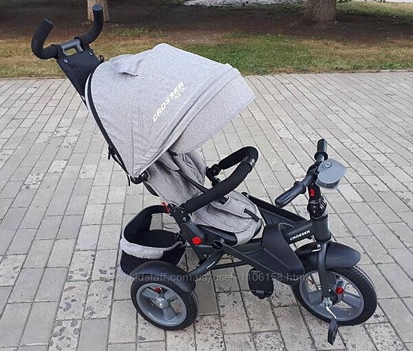 Кроссер т400 Нео Эко велосипед трехколесный детский Crosser Neo Eco новинка