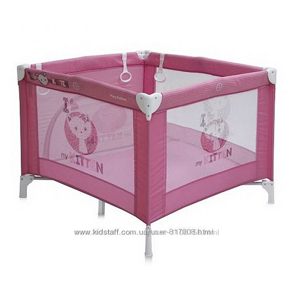 Манеж Бертони Плей Стейшен детский Bertoni Lorelli Play Station кроватка