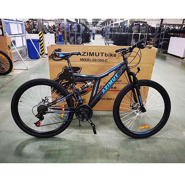 Azimut Blackmount 26 Шимано велосипед горный азимут