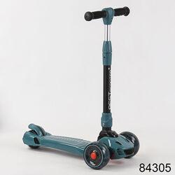 Самокат трехколесный складной best scooter cr maxi алюминиевый