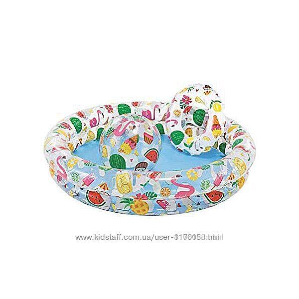 Intex 59460 звёзды детский надувной бассейн интекс